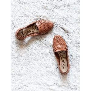Sam Edelman Adera Woven Leather Flat